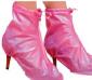 女士珠光平跟防雨鞋套