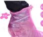 批发全新环保料女士高跟鞋防雨鞋套 女式轻便雨鞋 可反复使用